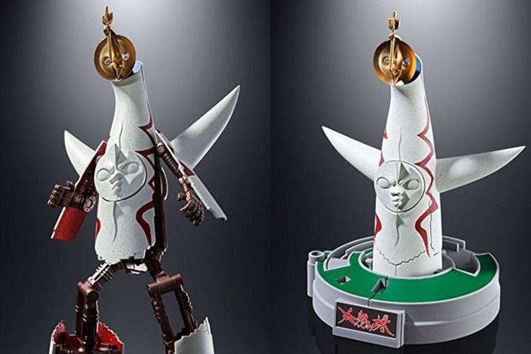 岡本太郎の代表作「太陽の塔」が超合金ロボに!太陽の塔の内部公開にあわせて発売