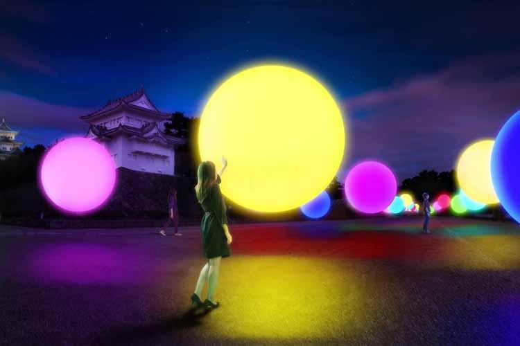 まるでタイムトリップしたよう…名古屋城が幻想的な異空間に大変化!