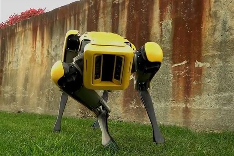 あのキモカワ四足歩行ロボット「SpotMini」の最新版が登場!動きが滑らかに