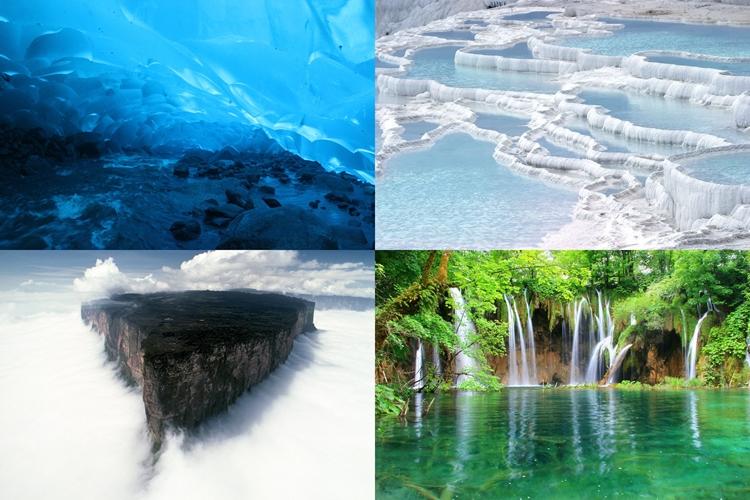 死ぬまでに一度は見ておきたい!自然が生み出した世界の不思議な絶景10選