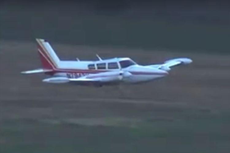 緊急事態で飛行機が胴体着陸!緊迫のシーンをとらえた動画が話題に!