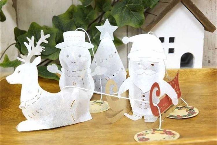 クリスマスを盛り上げる!サンタやトナカイがモチーフのティーバッグが登場!