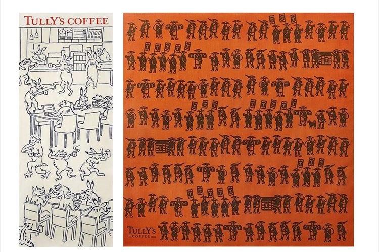 動物たちがコーヒータイム♪鳥獣戯画や大名行列が描かれたタリーズのコラボアイテムが面白い!