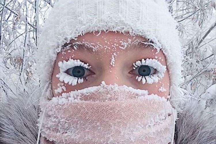 """""""世界で最も寒い定住地"""" 氷点下50度の世界は想像以上だった!…ロシアのオイミャコン村"""