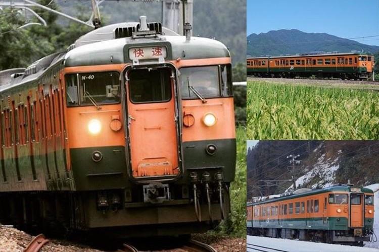 """""""かぼちゃ電車""""の愛称で親しまれた115系が3月に引退…感謝イベントも開催"""