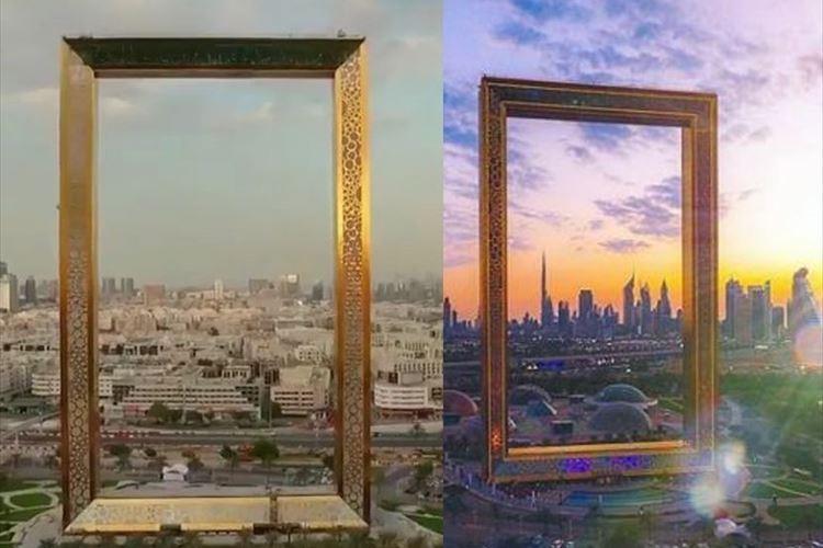 街並みが絵画になる!?巨大な額縁のような高層ビル「ドバイフレーム」が斬新!