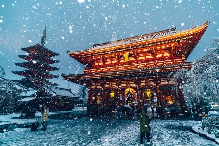 【東京×雪】東京に雪が降った日の美しい写真が海外でも話題に!