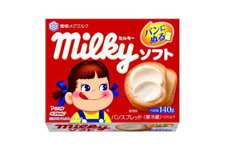 """""""塗るミルキー""""が誕生!豊かなミルクの味わい『ミルキー ソフト』がめっちゃ美味そう♡"""