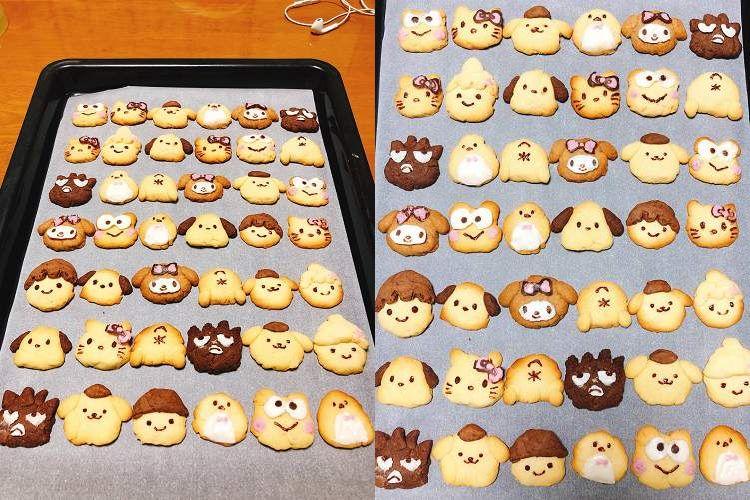 超絶可愛い~♡『サンリオキャラクター』の手作りクッキーが圧巻の力作!