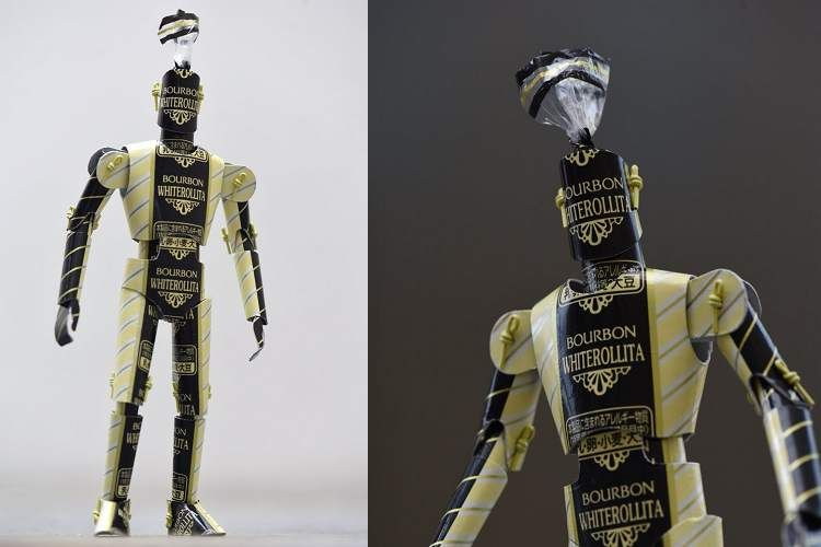 気付いた…?この格好良くて上品な『ロボット』、実はみんなの大好きなアレでできています!