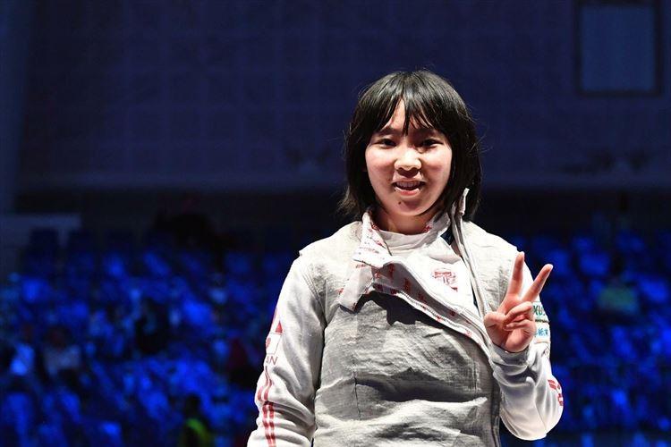 【快挙】フェンシング・上野優佳がジュニア・カデ世界選手権制覇!
