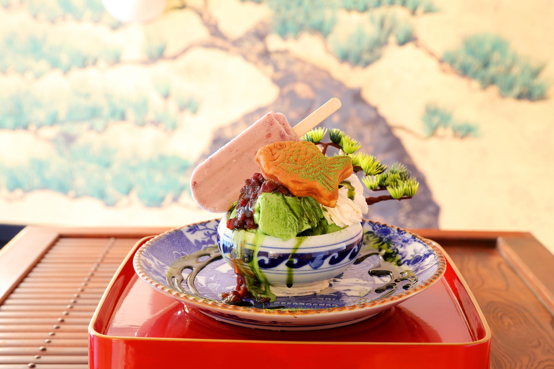 鑑賞してたら溶けちゃうぞ!ニッポンを再現したスイーツ「盆栽パフェ」が話題!