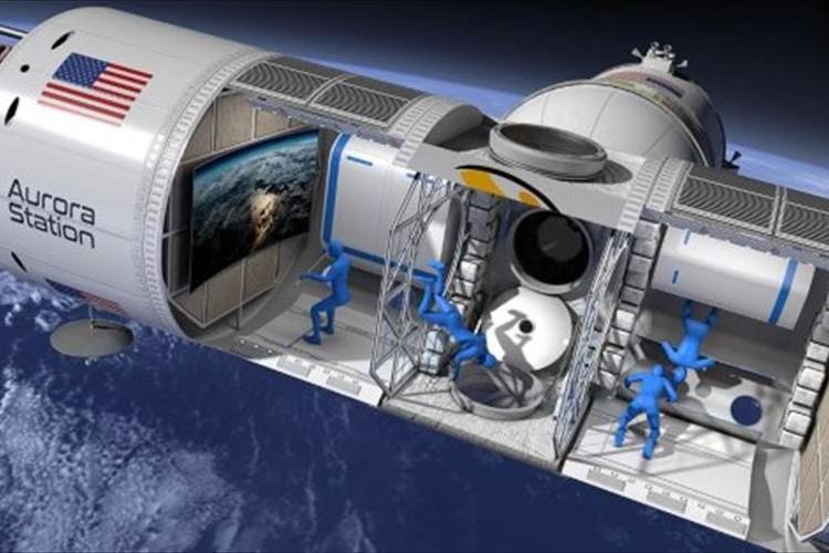 宇宙から地球の光景を楽しむ…宇宙初の高級ホテル構想が4年後に実現か!?