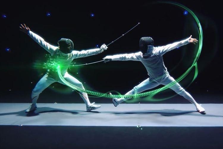 「フェンシングをビジュアライズする」太田雄貴が監修した映像がかっこよすぎる!