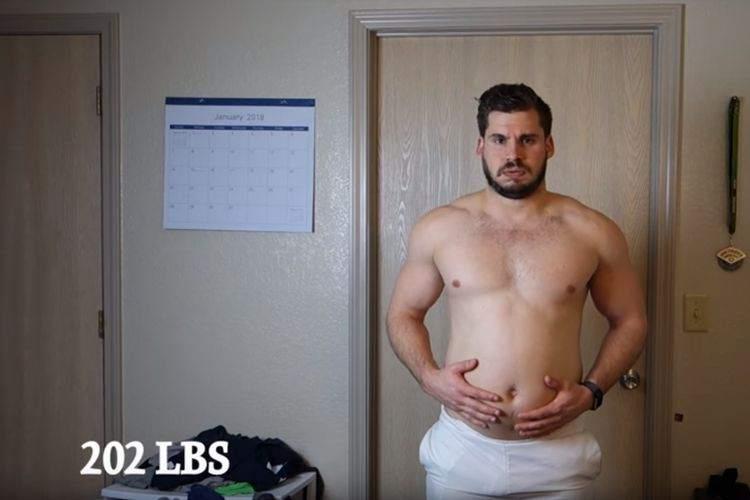最高にカッコイイ!とある男性の3か月間に及ぶ肉体改造、その変身ぶりに驚き!【19kg減】