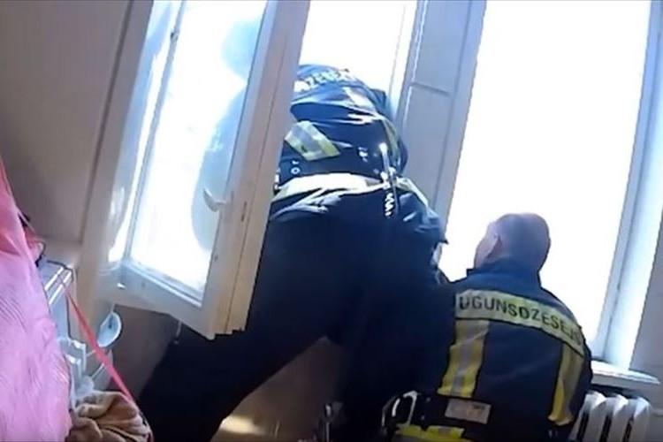 飛び降り自殺を図った女性を両手でキャッチ!人命を救助した消防士に称賛の声