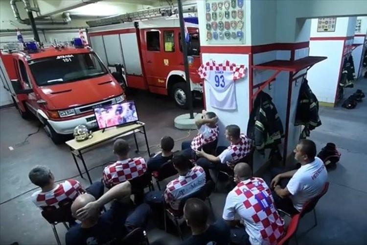 W杯を観戦中のクロアチアの消防士…勝利目前に通報が入るも迅速な出動に世界が称賛
