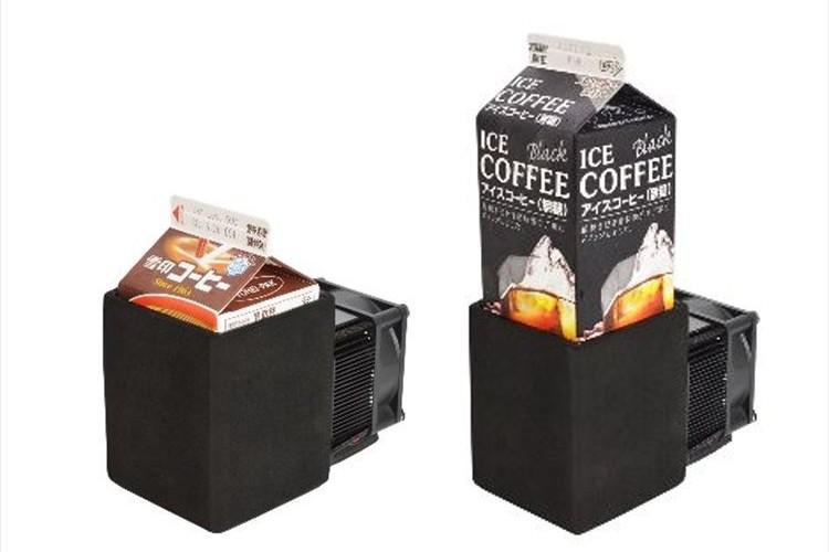 ぬるくなった紙パック飲料をキンキンに冷やす専用冷却機が発売!