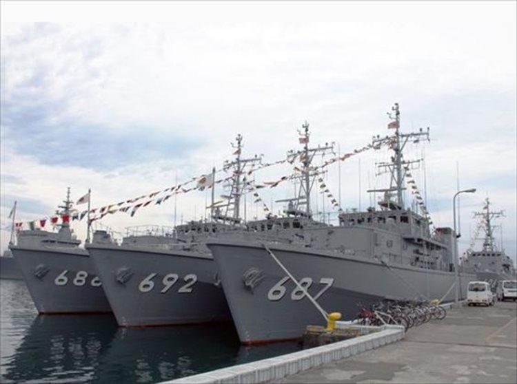 【海上自衛隊】「海の日」は日本の各寄港地で艦艇広報…満艦飾も圧巻!