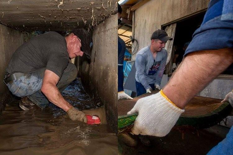 「友人が必要な時に助けるのは当然」在日米海兵隊の被災地ボランティアに感謝の声