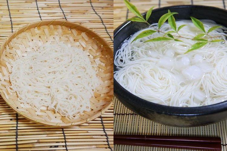 素麺の盛り方は関東と関西で違う!?あなたの地域はどっち?