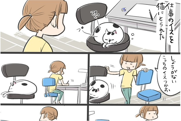 なんで〜!?と叫びたくなる、ツンデレな猫の行動を描いた漫画がかわいいと話題