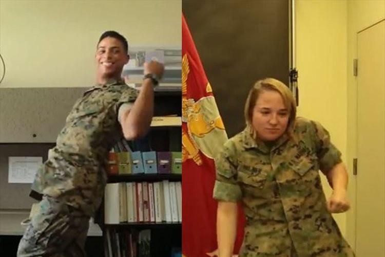 なんてキレッキレなんだ…在日米海兵隊員がDA PUMPの「U.S.A」をノリノリで踊る!