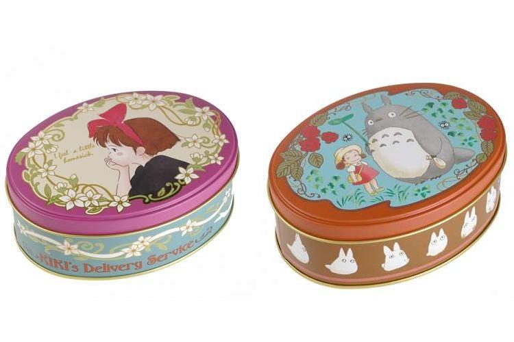レトロで可愛い♪キキやメイ&トトロが茶葉の缶になって登場!
