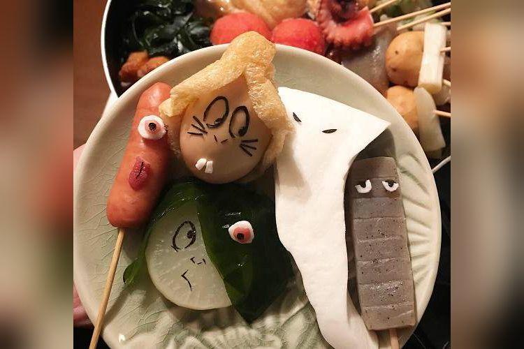 これ可愛い♡おでんで出来た『ゲゲゲの鬼太郎』の仲間たちがめっちゃイイ!
