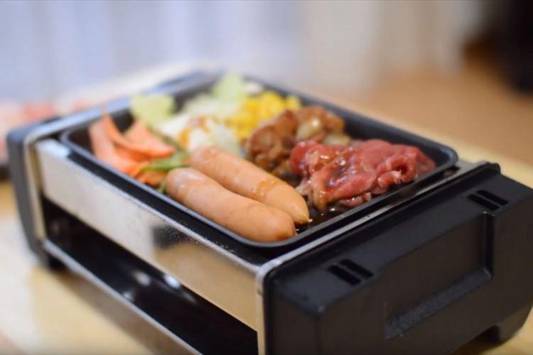贅沢な肉食ライフを!いつでも好きな時に楽しめる『ひとり焼肉専用ホットプレート』が魅力的!