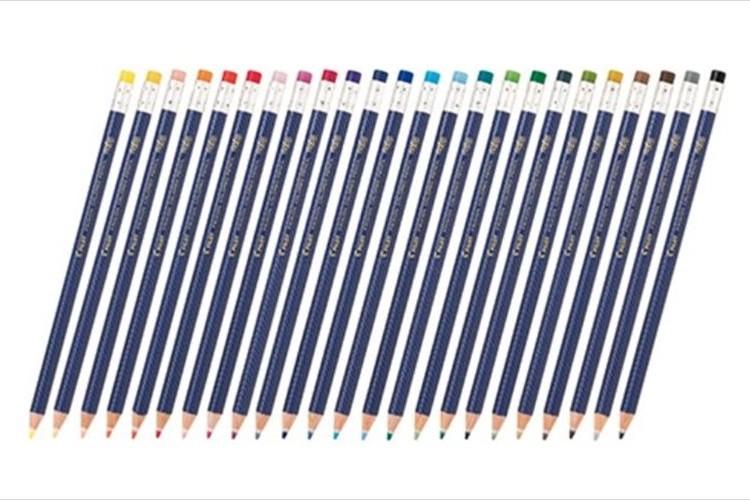 こすると消えて、消しカスも出ない!大人向け色鉛筆『フリクションカラードペンシル』が発売!