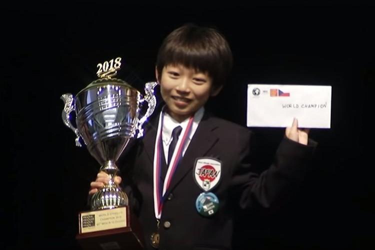 【快挙】小学5年生の福地啓介くんが世界オセロ選手権で優勝!さらに帰国便で感動のサプライズが…