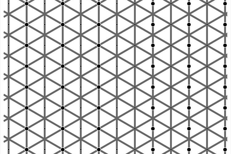 「何なのこれ!?」左側も右側も黒い点は同じ数だけど…そうは見えない!