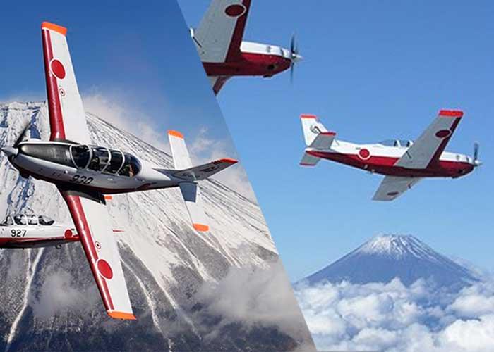 全国の駐屯地からたくさんの航空機が入間に集結!年一回の「入間航空祭」が開催!