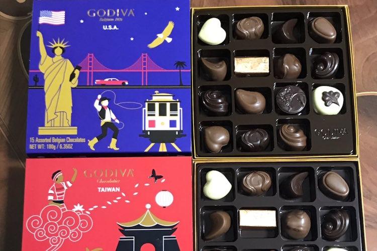 台湾土産を渡したらアメリカ土産を貰った。その結果...ただのチョコレート交換に