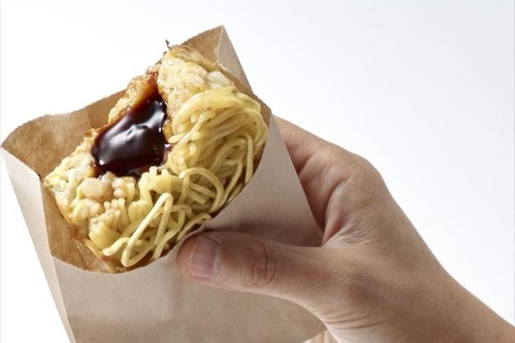 おやつにいいかも!片手で食べるお好み焼き「お好みソース饅頭」専門店が12月にOPEN