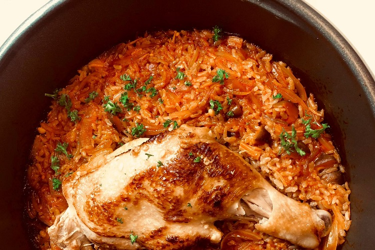 無印の『鍋の素』で絶品チキンパエリアができちゃう!?アイディアレシピが話題