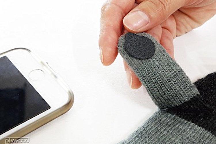 冬の必需品!手袋をしたまま指紋認証ができる、擬似指紋シールがめっちゃ便利!