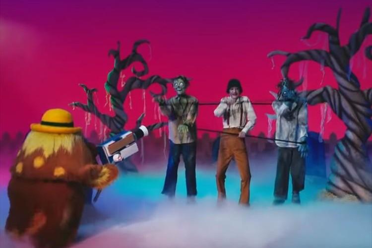 29年ぶりに「できるかな」が復活!?ノッポさんがゾンビに化けて登場!懐かしのテーマソングも