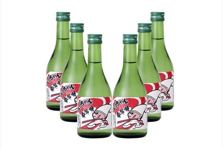"""これは気になる…""""よっちゃんイカ専用の日本酒""""が登場!ほんのり甘くスッキリとした味わい"""