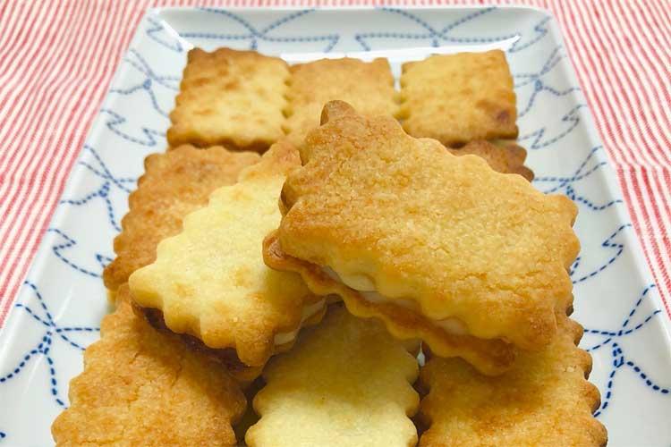 オーブンを使わなくてもできる!魚焼きグリルで焼く「ラムレーズンサンドクッキー」の作り方