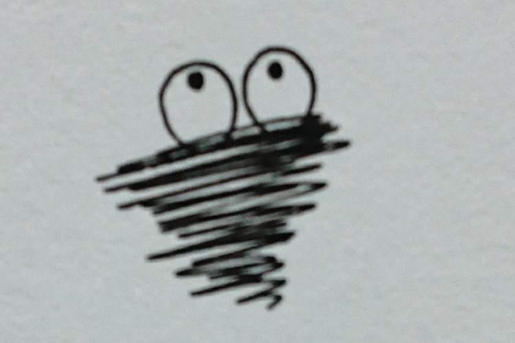 【懐かしい】紙の上に突然現れるこの子、あなたは覚えてる?【昭和感満載】