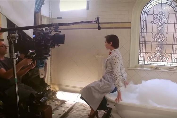 映画『メリーポピンズ リターンズ』の撮影の裏側がすごいと話題に!