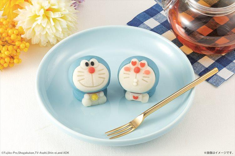 食べてしまうのがもったいない!?可愛らしいドラえもんの和菓子が登場!鈴など細かい部分も再現