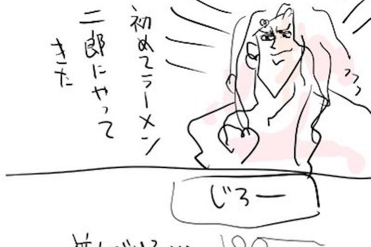初めてラーメン二郎に行く方へ。並び方や注文の仕方をレポートした漫画が面白い!