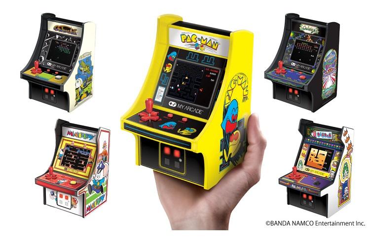 懐かしのゲームたちが帰ってきた!80年代の『アーケードゲーム』が手のひらサイズに!