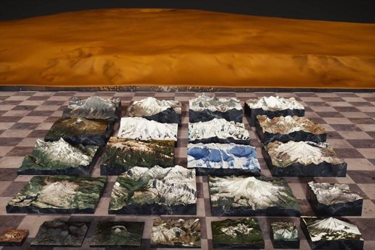 世界中にある山を3Dモデルで比較した動画が面白い!最後には度肝を抜く高さの山が登場!
