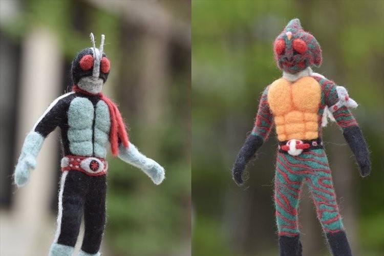 「カッコ良さだけでなく愛も感じる」羊毛フェルトで作った仮面ライダーアマゾンのクオリティが凄すぎる!