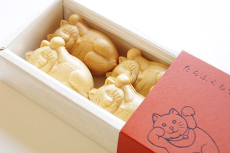 錦糸町にある御菓子司白樺の「たらふくもなか」がめっちゃ可愛いとSNSで話題