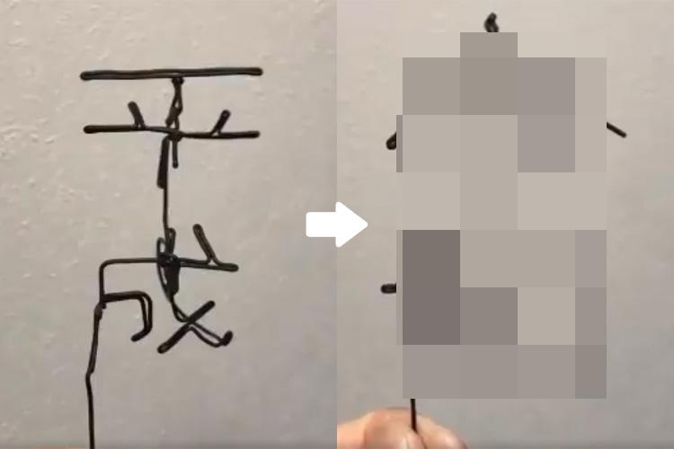 改元記念に「平成」と「令和」が夢の共演!角度を変えると文字が変化する『針金アート』がカッコイイ